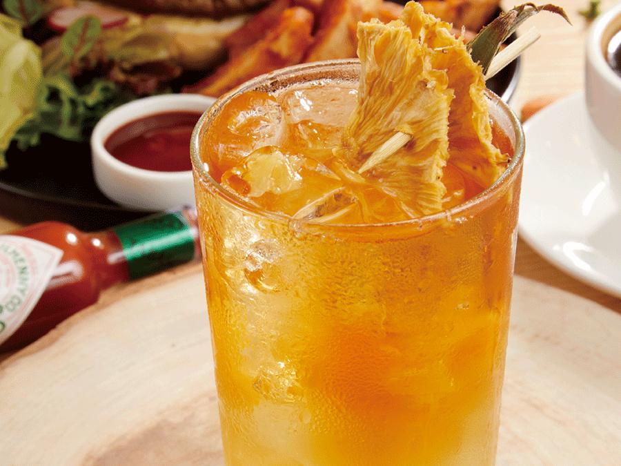 自製鳳梨冰茶