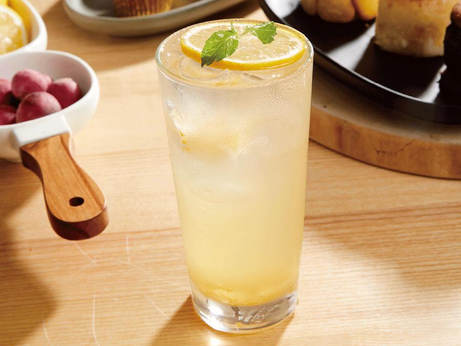 柚香蜂蜜氣泡飲