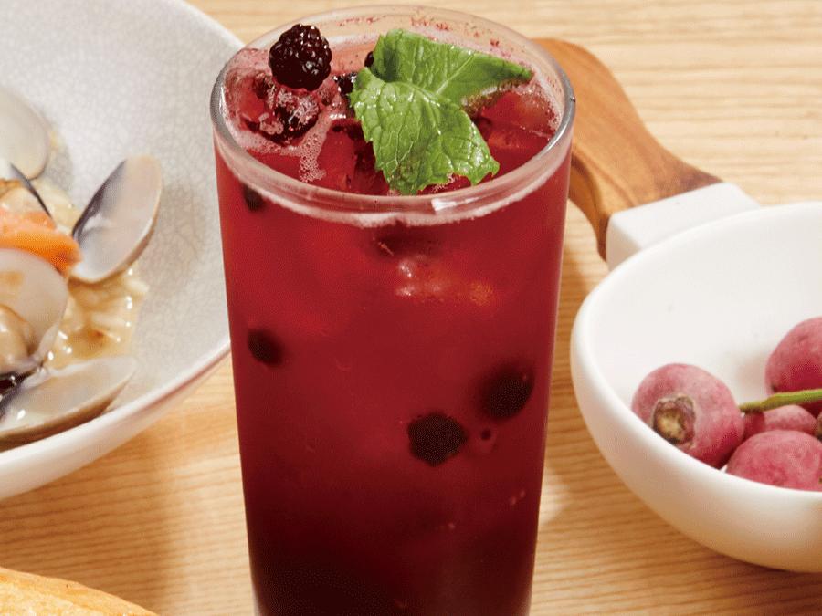 綜合莓果氣泡飲