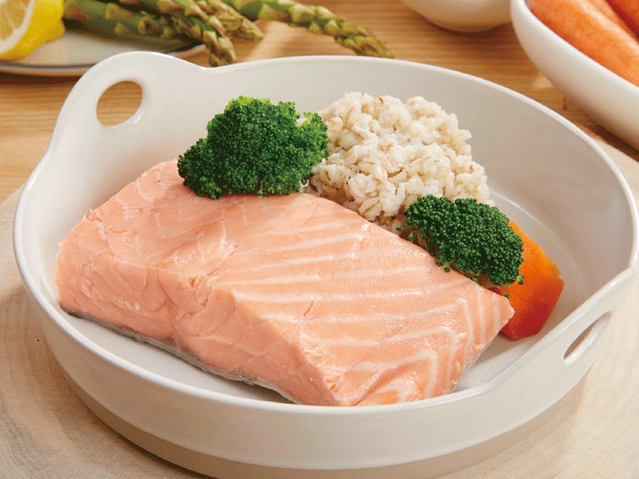 低溫舒肥鮭魚