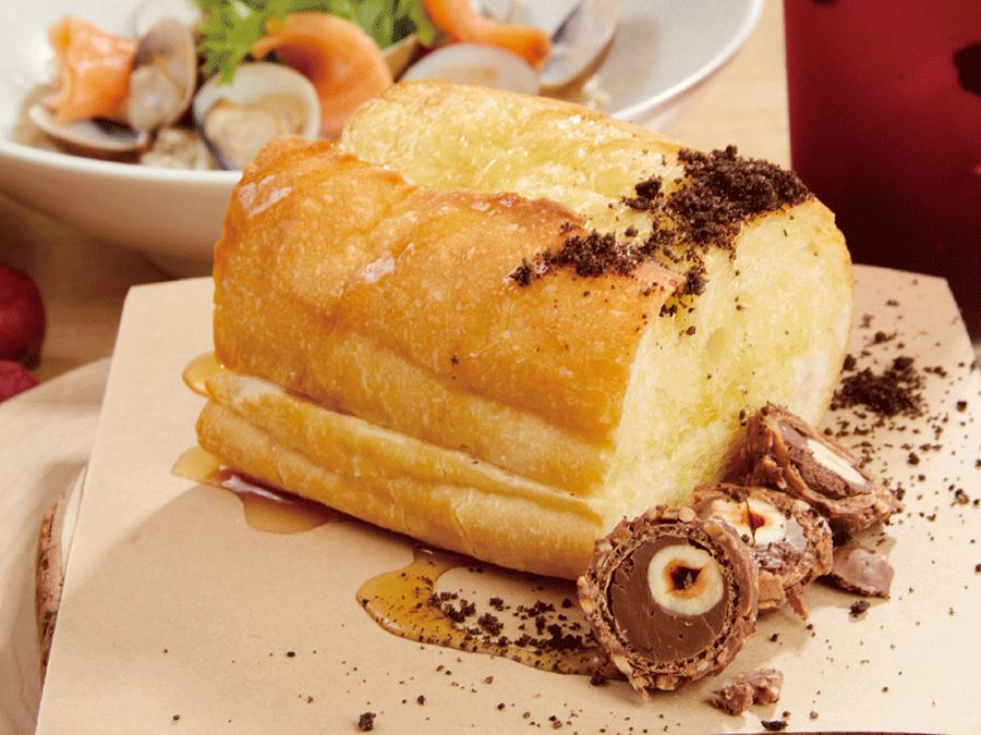 甜法國.蜂蜜奶油起士.金沙可可