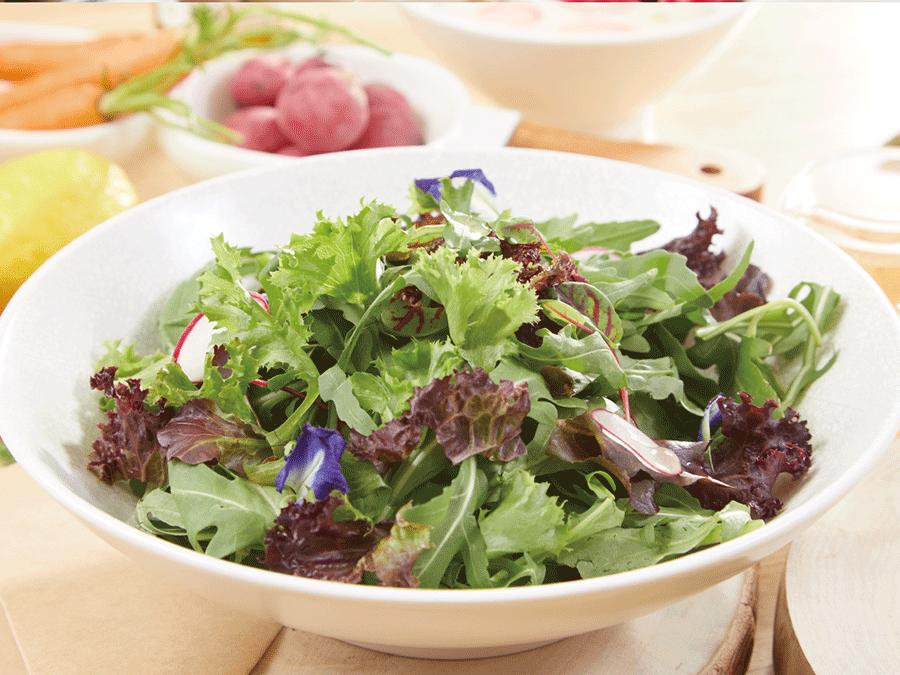 芝麻葉綜合沙拉